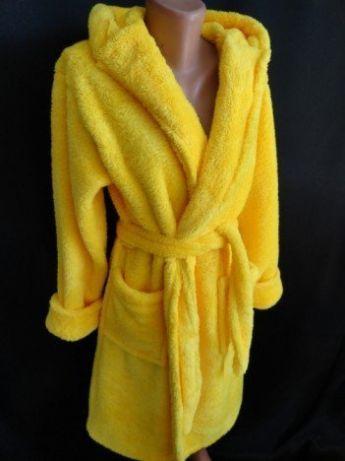 Халаты на запах с воротником