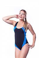 Купальник женский закрытый Shepa 009 слитный,цельный, без чашек (чашечек) спортивный для бассейна