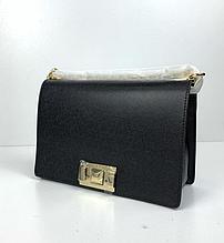 Сумка в стиле Фурла ! новая колекция / натуральная кожа (0157-L) Черный