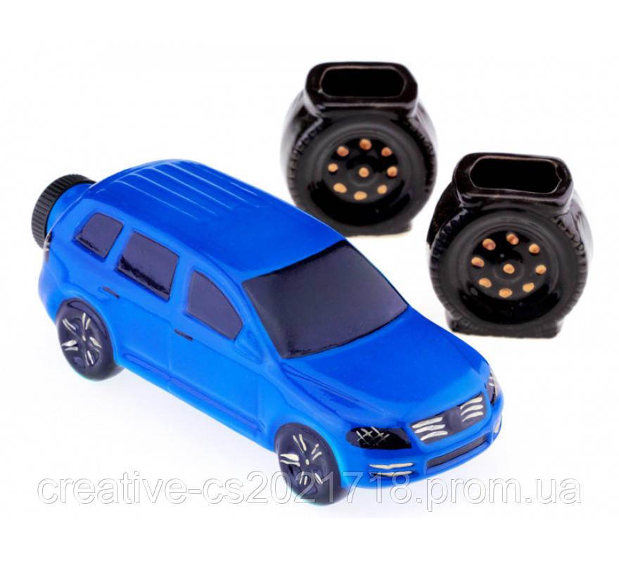 Коньячный набор мини Volkswagen Touareg, 350 мл. (3 предмета )