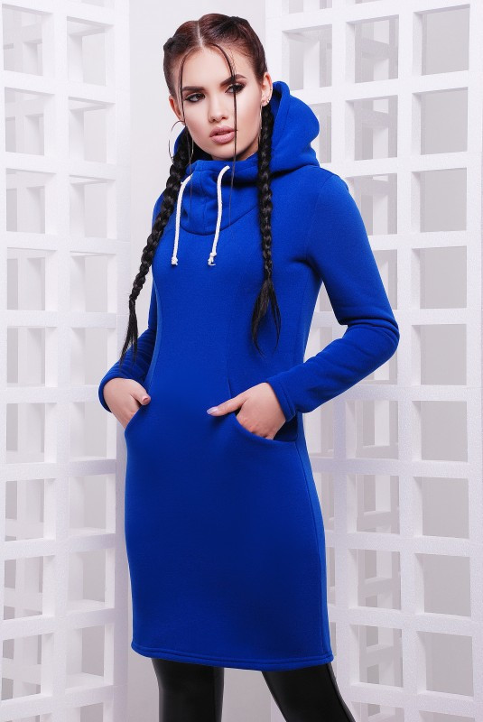 Платье в спортивном стиле женское (ЭЛЕКТРИК)