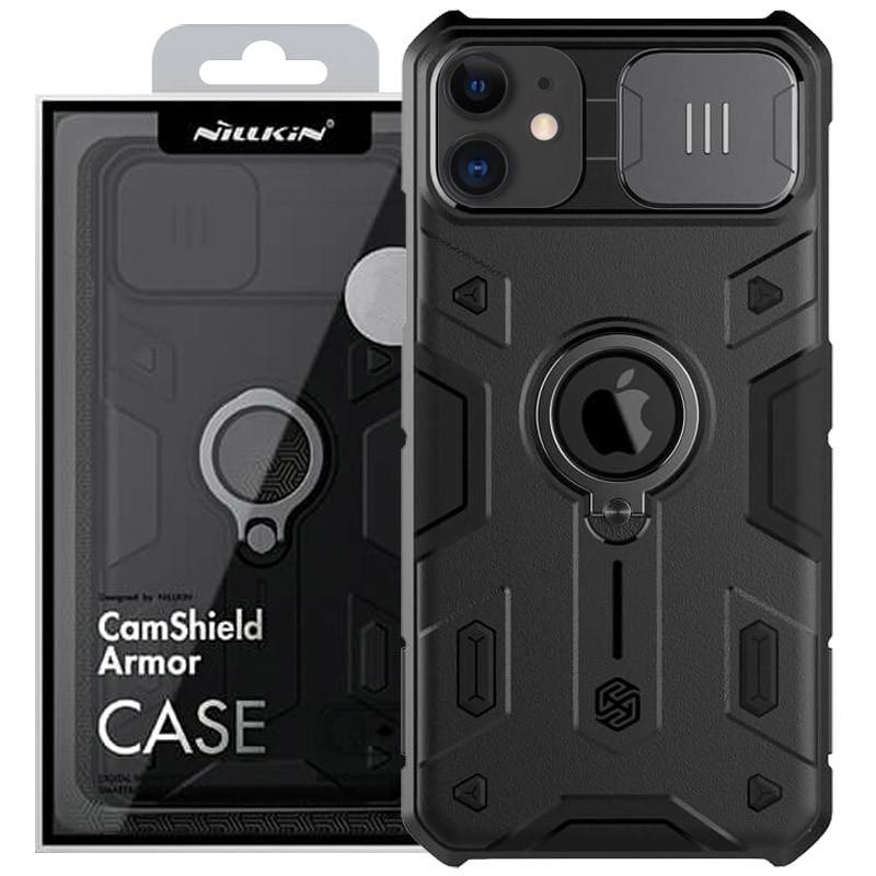 "TPU+PC чехол Amax CamShield Armor (шторка на камеру) для Apple iPhone 11 (6.1"")"