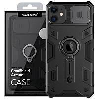 "TPU+PC чехол Amax CamShield Armor (шторка на камеру) для Apple iPhone 11 (6.1""), фото 1"