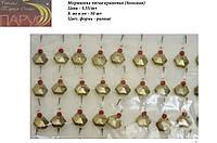 Мормышка литая крашеная №2 шестигранник ПАРУС (большая)