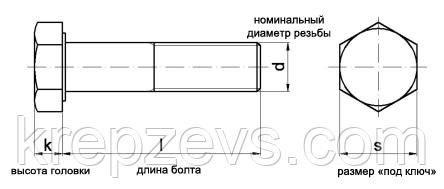 Картинки по запросу Болт высокопрочный М6 класс прочности 10.9 DIN 931, DIN 933