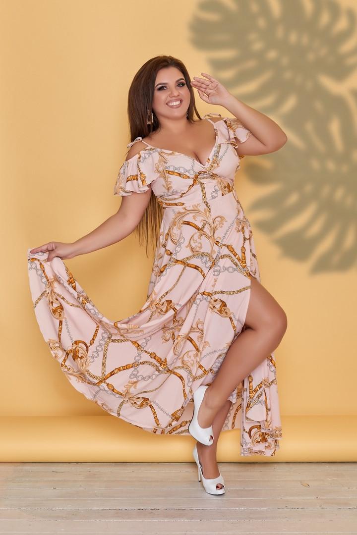 Женские летние платья большого размера