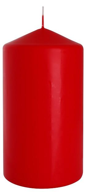 Свеча цилиндр красная Bispol 15 см (sw80/150-030)