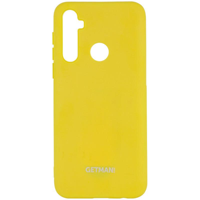 Чехол Silicone Cover GETMAN for Magnet для Samsung Galaxy A21