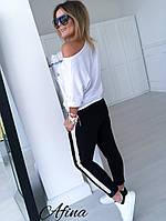 Женский повседневный костюм. Женский модный спортивный костюм. Спортивный костюм женский!, фото 2