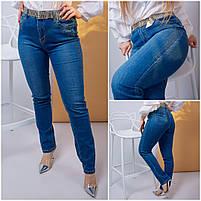 Повседневные женские джинсы Больших размеров, фото 2