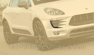 MANSORY front bumper spitter add-on DIESEL for Porsche Macan