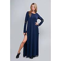 8196 Платье в пол с разрезами, фото 1