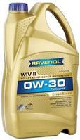 Масло моторное синтетическое RAVENOL (равенол) WIV II SAE 0W-30 4л