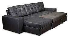 Диван Калифорния с оттоманкой, мягкий диван, мебель, фото 3