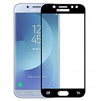 Защитное стекло для Samsung Galaxy J530 (Черный)