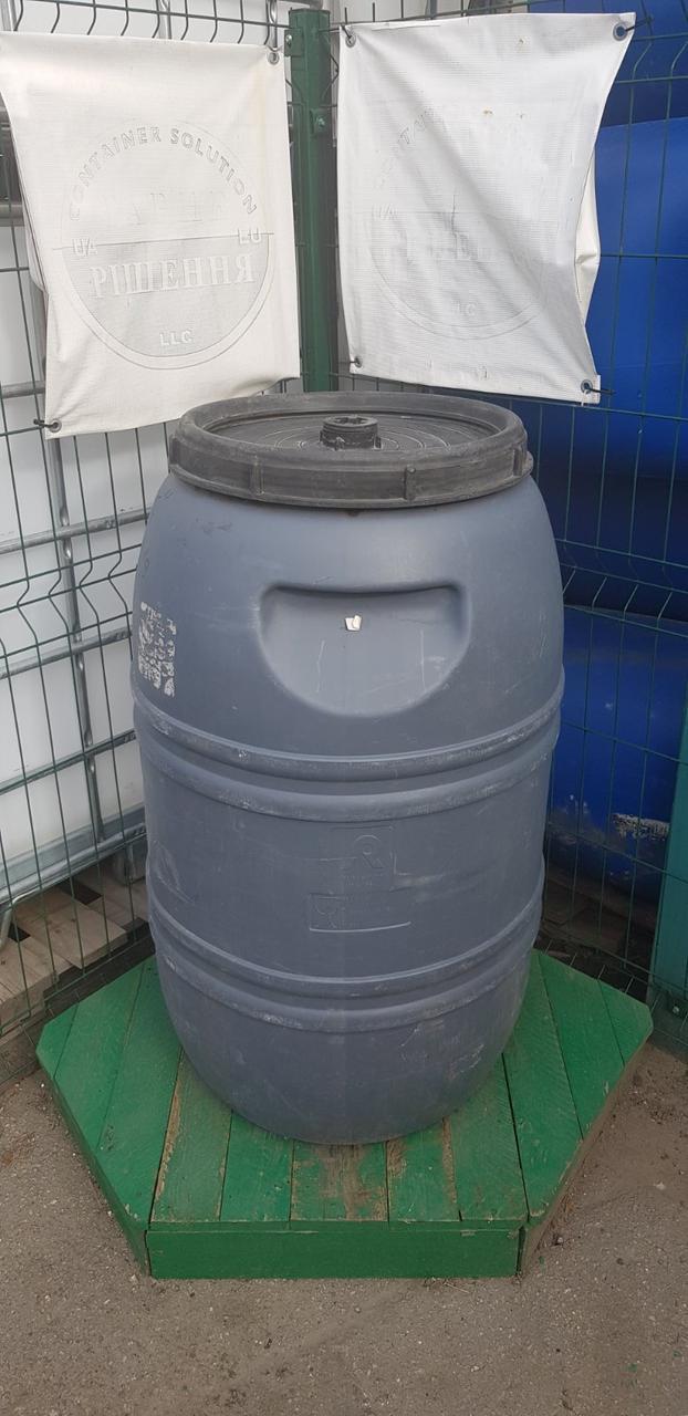 0242-26/1: С доставкой в Мелитополь ✦ Бочка (220 л.) б/у пластиковая