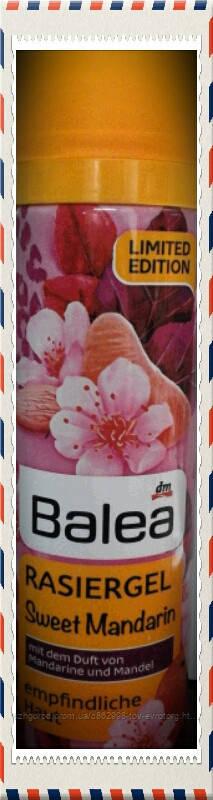 Гель для бритья для женщин Balea sweet mandarine 0,150 мл