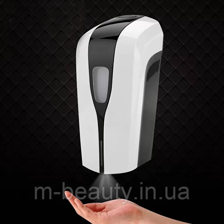 Дозатор настінний сенсорний для антисептика для фітнес центрів, дозатори для туалетних кімнат OS-1808