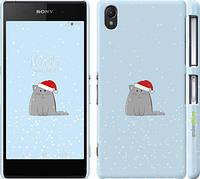 "Чехол на Sony Xperia Z2 D6502/D6503 Рождественский кот ""502c-43"""