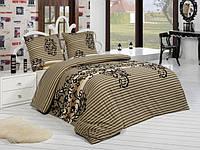 Трикотажное постельное бельё с простыней на резинке ACELYA Anemon