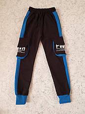 Спортивные штаны с карманами карго на мальчиков 116,122,128,134,140,146,152 роста Boyraz, фото 2
