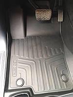 Коврики резиновые в салон 3D LUX для Mercedes-Benz GLE (2015-2018)