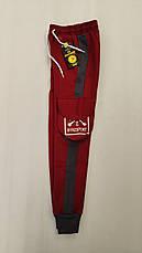 Спортивные штаны с карманами карго на мальчиков 116,122,128,134,140,146,152 роста Boyraz, фото 3