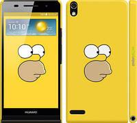 "Чехол на Huawei Ascend P6 Симпсоны. Гомер ""199c-39"""