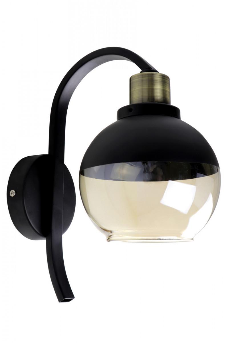 Бра настенное в стиле Loft (лофт) (29х14х22 см.) Матовый черный YR-8038/1
