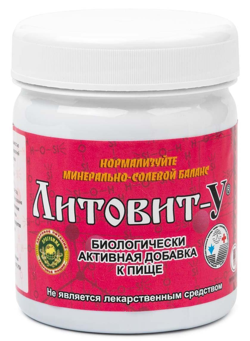 Литовит-У, с мареной красильной - при воспалительных заболеваниях мочеполовой системы