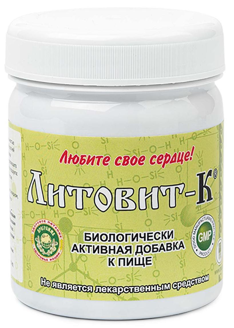 Литовит-К с ламинарией - источник йода, железа, марганца, цеолита
