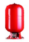 Расширительный бак «ELBI» ERCE50р, Объем: 50 л