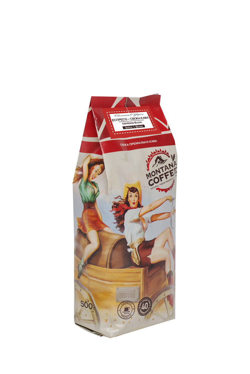 Эспрессо арабика Монтана кофе 500 г
