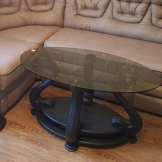 Стол журнальный стеклянный Милан МС-1 Антоник, цвет на выбор