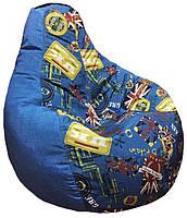 Кресло мешок груша пуф бескаркасная мебель +ПОДАРОК