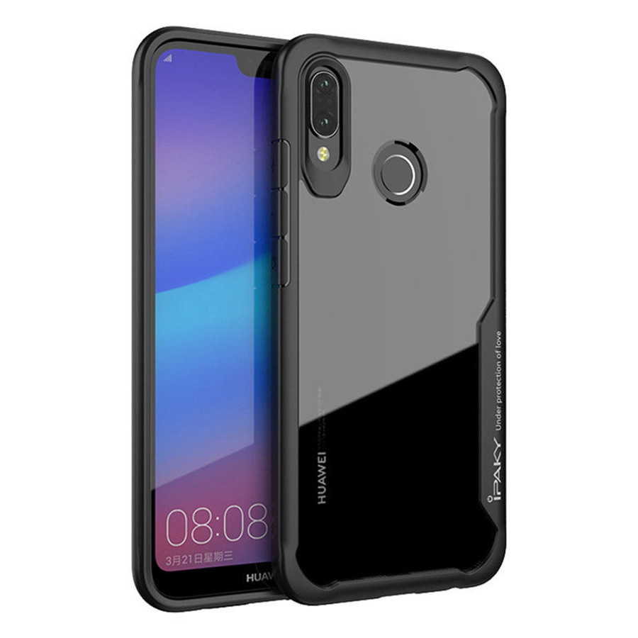 TPU+PC чехол iPaky Luckcool Series для Huawei P20 Lite