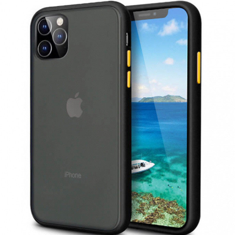 "TPU+PC чехол iPaky Matte Smooth для Apple iPhone 11 Pro Max (6.5"")"