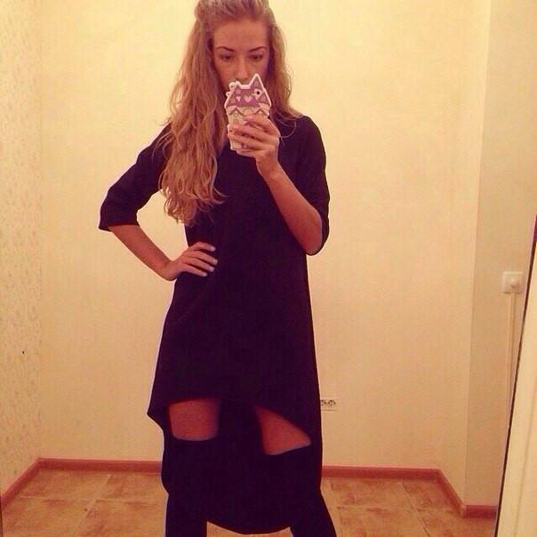 Купить асимметричное платье