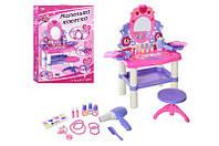 Детский макияжный столик с зеркалом,стульчиком M 0395 U/R