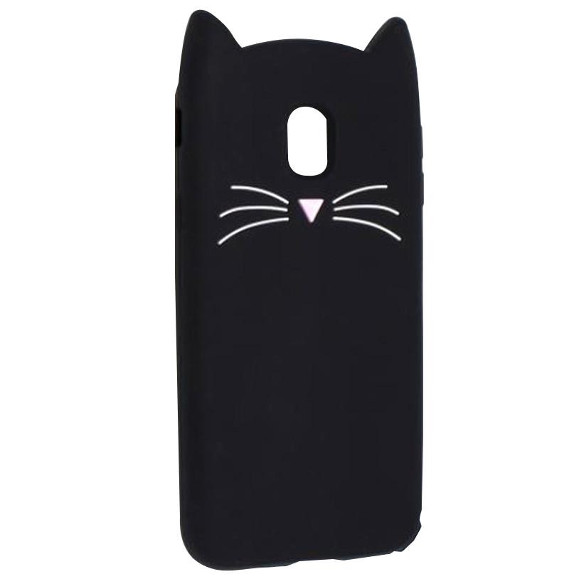 Силиконовая накладка 3D Cat для Samsung J530 Galaxy J5 (2017)