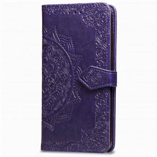 Кожаный чехол (книжка) Art Case с визитницей для Xiaomi Redmi Note 6 Pro