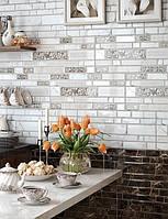 23х50 Керамическая плитка стена кухня фартук  Plaza