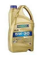 Масло моторное синтетическое RAVENOL (равенол) HLS SAE 5W-30 5л.