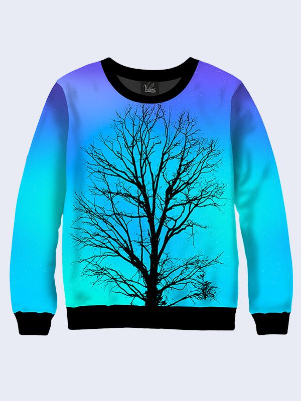 Свитшот одинокое дерево (Размер: S(46), Фасон: Мужской)