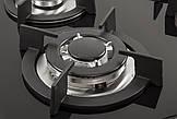 Поверхность газовая Ventolux HG K7 CEST (BK) черное стекло, фото 2