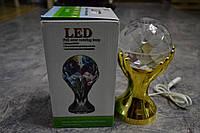 Световой диско шар в виде кубка LED Ball Light