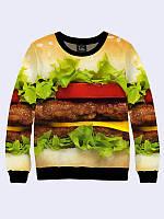 Свитшот чизбургер (Размер: S(46), Фасон: Мужской)