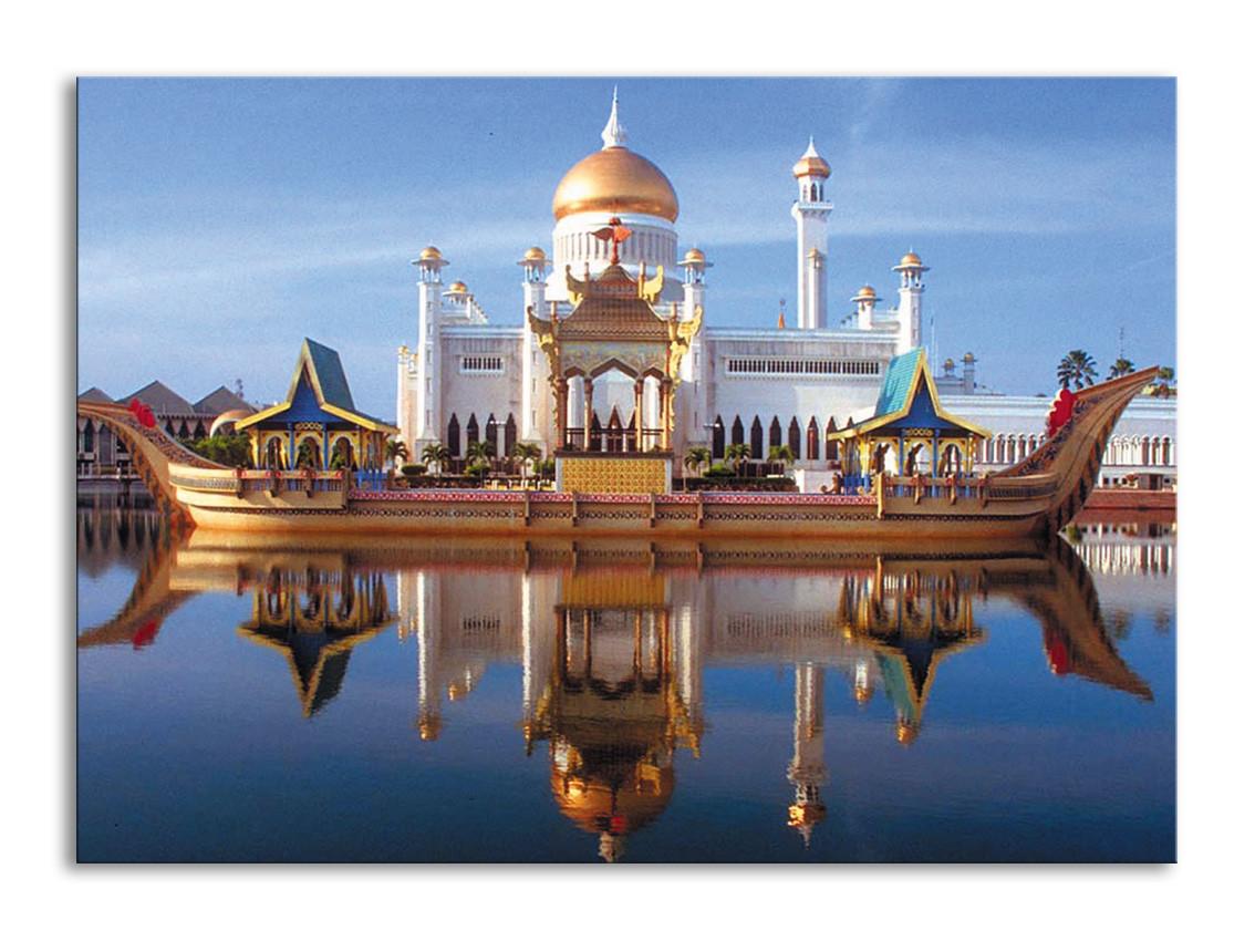 """Картина на холсте """"Дворец в Брунее"""""""
