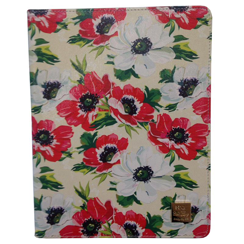 """Кожаный чехол-книжка TTX (Flowers) с подставкой для Apple iPad Pro 9,7"""""""
