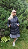 Куртка плащ пальто френч женский весна осень демисезонный длинный короткий с капюшоном прямой приталенный